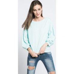 Answear - Bluza. Szare bluzy damskie marki ANSWEAR, l, z bawełny, bez kaptura. W wyprzedaży za 49,90 zł.