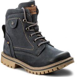 Buty zimowe chłopięce: Trapery LASOCKI YOUNG – CI01-ASTERIX-03 Granatowy 1