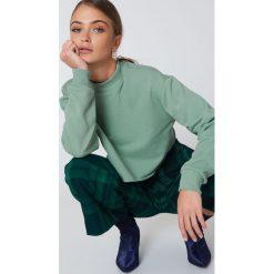 Bluzy damskie: Josefin Ekström for NA-KD Bluza Rad – Green