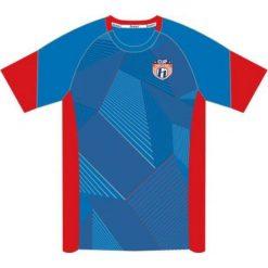 T-shirty chłopięce: Huari Koszulka juniorska Kempes Junior T-shirt French Blue/ Fiery Red r. 164