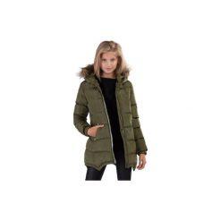 Kurtka dziewczęca zimowa. Czarne kurtki dziewczęce zimowe marki ARTENGO. Za 64,99 zł.