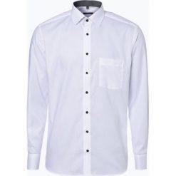 Eterna Modern Fit - Koszula męska niewymagająca prasowania, czarny. Czarne koszule męskie non-iron marki Cropp, l. Za 249,95 zł.