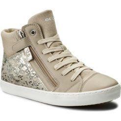 Sneakersy GEOX - J Gisli G. B J744NB 0FNBC C5000 D Beige. Brązowe buty sportowe chłopięce Geox, z materiału. Za 269,00 zł.