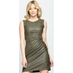 Zielona Sukienka Come Back To Me. Zielone sukienki mini marki Reserved, z wiskozy. Za 99,99 zł.