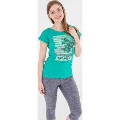 4f Koszulka damska szmaragdowa r. M (H4L17-TSD009). Zielone topy sportowe damskie marki 4f, l. Za 27,55 zł.