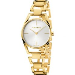 ZEGAREK CALVIN KLEIN DAINTY K7L23546. Szare zegarki damskie marki Calvin Klein, szklane. Za 1489,00 zł.