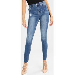 Rurki damskie: Missguided CLEAN SINNER HIGH WAIST AUTHENTHIC  Jeans Skinny Fit mid blue