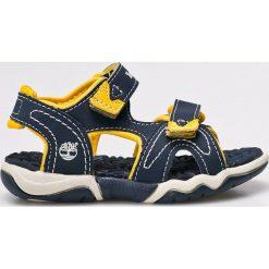 Timberland - Sandały dziecięce. Szare sandały chłopięce marki Timberland, z gumy. W wyprzedaży za 139,90 zł.