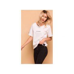 Lost In Chaos T-shirt Bluzka. Białe t-shirty damskie Animals Wave, l, z haftami, z bawełny. Za 79,00 zł.