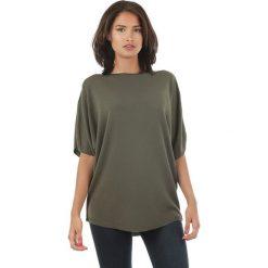 Sweter w kolorze khaki. Brązowe swetry klasyczne damskie marki L'étoile du cachemire, z kaszmiru. W wyprzedaży za 108,95 zł.