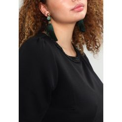 Sukienki hiszpanki: Dorothy Perkins Curve EMBELLISHED NECK DRESS Sukienka z dżerseju black