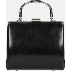 Czarna torebka wieczorowa. Czarne torebki klasyczne damskie Kazar, ze skóry. Za 399,00 zł.