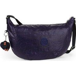 """Torebka """"Nille"""" w kolorze granatowym - 48 x 30 x 8 cm. Niebieskie torebki klasyczne damskie Kipling, w paski, z materiału. W wyprzedaży za 172,95 zł."""