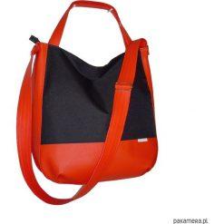 Czarna torba 3w1, Duża sportowa torebka damska. Czarne torebki worki Pakamera, duże. Za 130,00 zł.