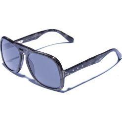 Okulary przeciwsłoneczne męskie aviatory: Okulary męskie w kolorze szarym