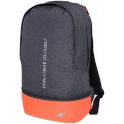 4F Plecak H4Z17 pcd002 Ciemny Szary Melanż. Szare plecaki damskie marki 4f, melanż, z materiału, biznesowe. W wyprzedaży za 79,00 zł.