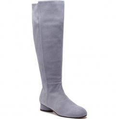 Kozaki STUART WEITZMAN - Eloise 30 YL96230 Dovetail Suede. Szare buty zimowe damskie marki Stuart Weitzman, z materiału. Za 3309,00 zł.