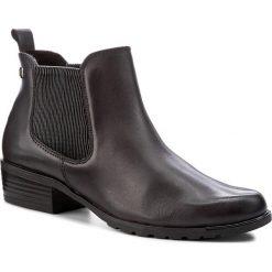 Sztyblety CAPRICE - 9-25413-29 Dk Grey Nappa 213. Szare buty zimowe damskie Caprice, ze skóry, na obcasie. W wyprzedaży za 249,00 zł.