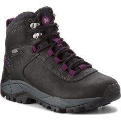Trekkingi MERRELL - Vego Mid Ltr Wp J311541C Black/Gloxinia. Czarne buty trekkingowe damskie Merrell. W wyprzedaży za 299,00 zł.