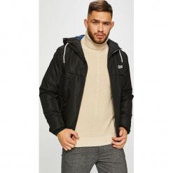 Jack & Jones - Kurtka. Czarne kurtki męskie marki Jack & Jones, l, z bawełny, z okrągłym kołnierzem. Za 259,90 zł.
