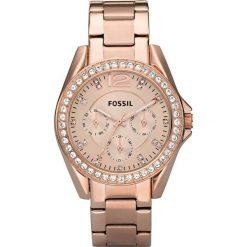 Zegarki damskie: Zegarek FOSSIL – Riley ES2811 Rose Gold/Rose