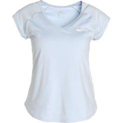 Nike Performance PURE Tshirt basic hydrogen blue/white. Niebieskie t-shirty damskie Nike Performance, xs, z elastanu. W wyprzedaży za 125,30 zł.