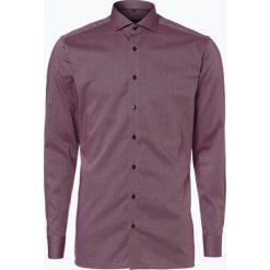 Koszule męskie na spinki: Eterna Slim Fit – Koszula męska niewymagająca prasowania, czerwony