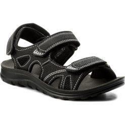 Sandały męskie skórzane: Sandały ACTION BOY - CS17020-3 Czarny