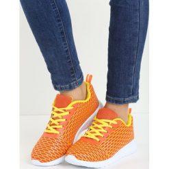Pomarańczowe Buty Sportowe Mayiss. Brązowe buty sportowe damskie marki NEWFEEL, z gumy. Za 34,99 zł.