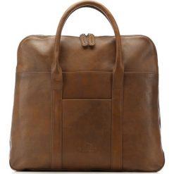 Torba na laptopa 86-3U-507-4. Brązowe torby na laptopa marki Wittchen, w paski. Za 599,00 zł.