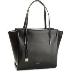 Shopper bag damskie: Torebka CALVIN KLEIN BLACK LABEL - Frame Large Shopper K60K603977 001