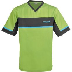 Koszulki do piłki nożnej męskie: REUSCH Koszulka męska Razor Shortsleeve zielono-czarna r. L (35/12/104/550)