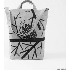 Shopper bag damskie: Ekologiczna torba z rysiem.