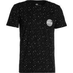 T-shirty męskie z nadrukiem: Alpha Industries STARRY Tshirt z nadrukiem black
