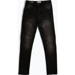 Review - Jeansy chłopięce slim fit, czarny. Czarne chinosy chłopięce Review, z jeansu. Za 169,95 zł.