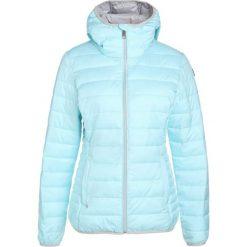 Luhta MAILE Kurtka Outdoor turquoise. Niebieskie kurtki damskie Luhta, z materiału, outdoorowe. Za 419,00 zł.