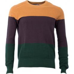 """Bluza """"Hurry On Now"""" w kolorze granatowo-pomarańczowo-brązowym. Brązowe bluzy męskie 4funkyflavours Women & Men, l, z bawełny. W wyprzedaży za 218,95 zł."""