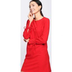 Czerwona Sukienka Open-Hearted. Czerwone sukienki hiszpanki Born2be, l, midi. Za 79,99 zł.