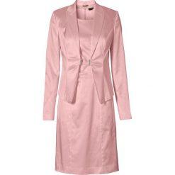 Sukienki: Żakiet + sukienka (2 części) bonprix stary róż