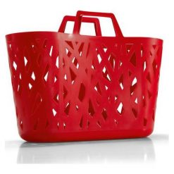 Torba Nestbasket Red. Czerwone torby plażowe marki Reisenthel. Za 69,00 zł.