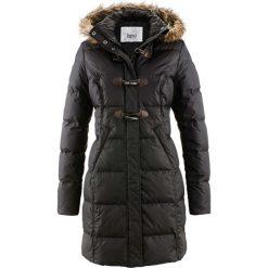 Płaszcz pikowany (lekki puch) bonprix czarny. Czarne płaszcze damskie puchowe marki FORCLAZ, m, z materiału. Za 249,99 zł.