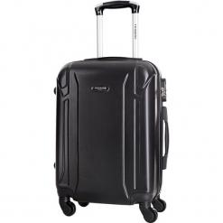 Walizka w kolorze czarnym - 70 l. Czarne walizki Bagstone & Travel One, z materiału. W wyprzedaży za 199,95 zł.