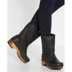 Buty zimowe damskie: Sanita PUK Kozaki na platformie black