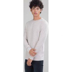 Swetry męskie: Jack & Jones Sweter light grey melange