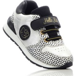 Buty sportowe chłopięce: Sneakersy Hello Kitty bonprix srebrno-czarny