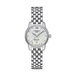 RABAT ZEGAREK CERTINA DS 8 C033.051.11.118.00. Białe zegarki damskie CERTINA, szklane. W wyprzedaży za 1487,20 zł.