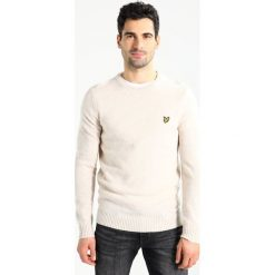 Swetry klasyczne męskie: Lyle & Scott BLEND JUMPER Sweter sandy marl