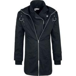 Płaszcze na zamek męskie: Vixxsin Resolution Jacket Płaszcz czarny