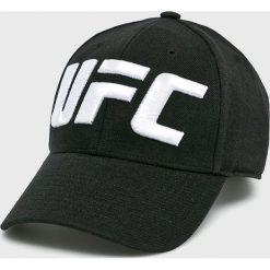 Reebok - Czapka. Czarne czapki z daszkiem męskie Reebok, z bawełny. Za 119,90 zł.