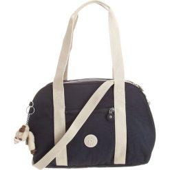 """Torebka """"Lexique"""" w kolorze granatowym - 36 x 24 x 4 cm. Niebieskie torebki klasyczne damskie Kipling, w paski, z materiału. W wyprzedaży za 151,95 zł."""